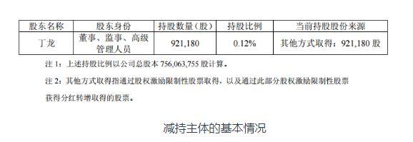 欧普照明发布公告披露董事丁龙股份减持计划校验台